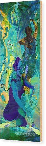 Pas De Deux Wood Print by Anne Weirich
