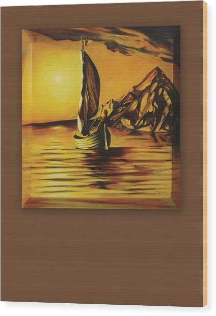 Passage Wood Print