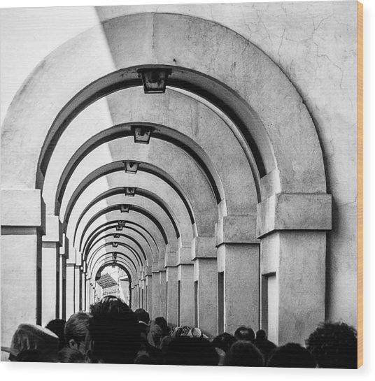 Passageway At The Arno Wood Print