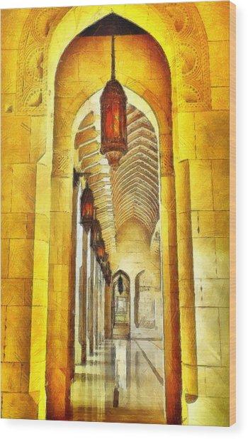 Passageway Wood Print