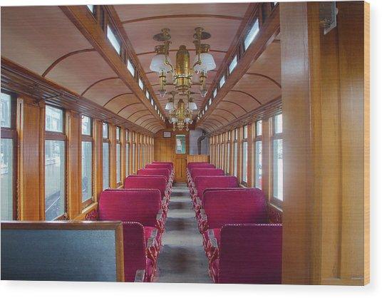 Passenger Travel Wood Print