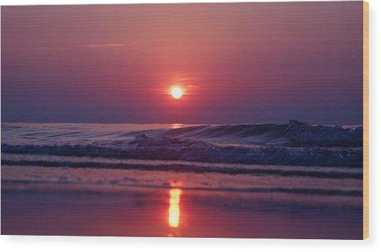 Pastel Sunrise  Wood Print