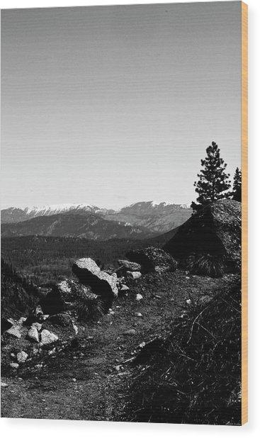 Path To Heaven Wood Print