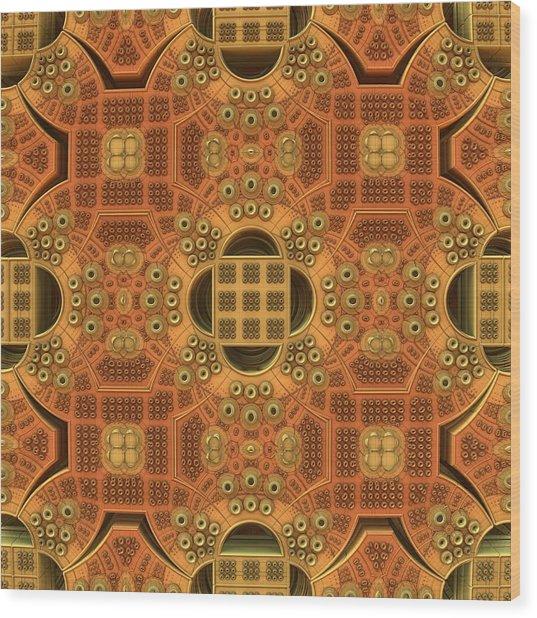 Patterns Within Patterns Wood Print