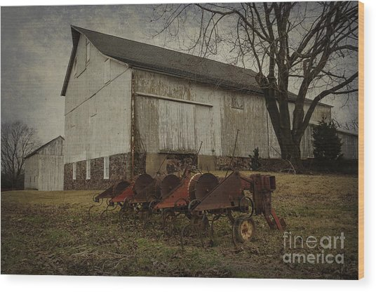 Patterson Farm  Wood Print