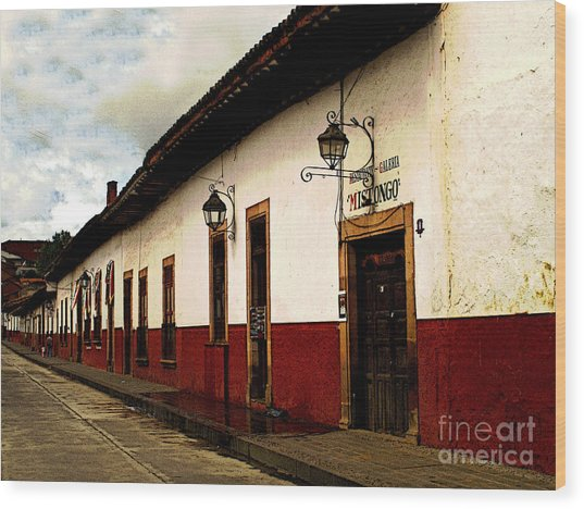 Patzcuaro Colors Wood Print by Mexicolors Art Photography