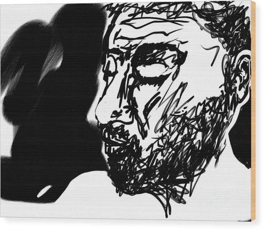 Paul Ramnora Self-portrait Wood Print