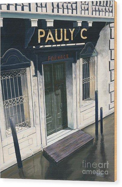 Pauly C. Fornache Wood Print by Jiji Lee