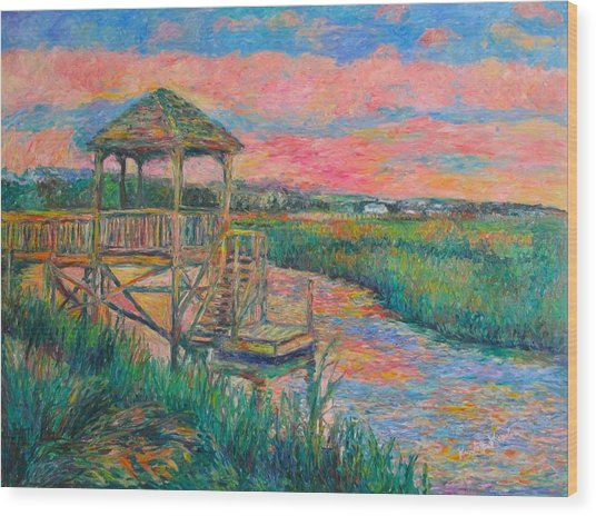 Pawleys Island Atmosphere Stage Two Wood Print