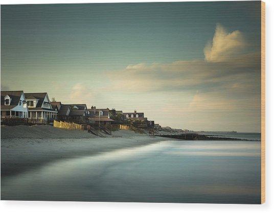 Pawleys Island, One Hour Till Sunset Wood Print