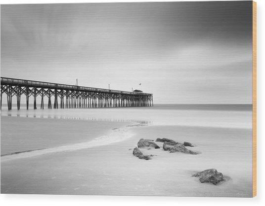 Pawleys Island Pier I Wood Print