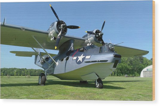 Pby Catalina Wood Print by Liza Eckardt