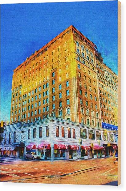 Peabody Hotel - Memphis Wood Print