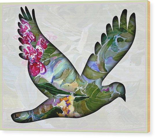 Peace For Peace Wood Print