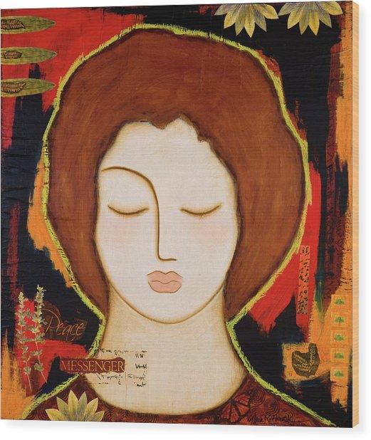 Peace Messenger Wood Print