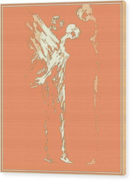 Peace On Earth Wood Print by Emna Bonano