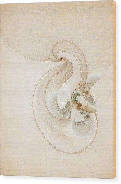 Peace Wood Print by Talasan Nicholson