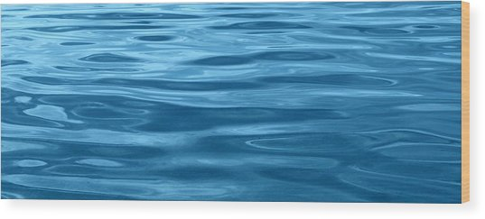 Peaceful Blue Wood Print