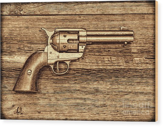 Peacemaker Wood Print