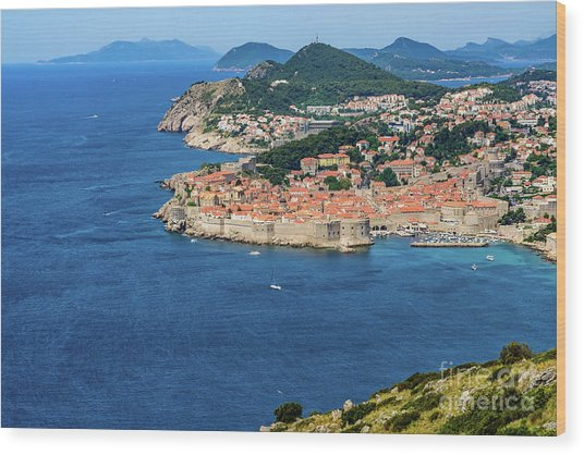 Pearl Of The Adriatic, Dubrovnik, Known As Kings Landing In Game Of Thrones, Dubrovnik, Croatia Wood Print