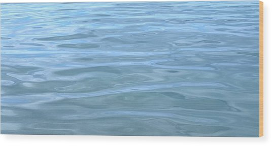 Pearlescent Tranquility Wood Print