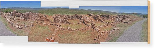Pecos National Monument - 4 Wood Print by Randy Muir