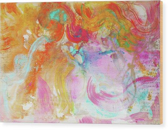 Pegasus Wood Print