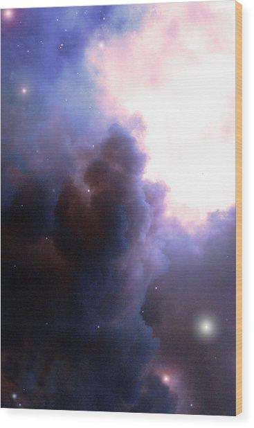 Pelion Nebula Wood Print