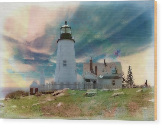 Pemaquid Lighthouse,maine Wood Print