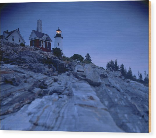 Pemaquid Pt. Light Wood Print