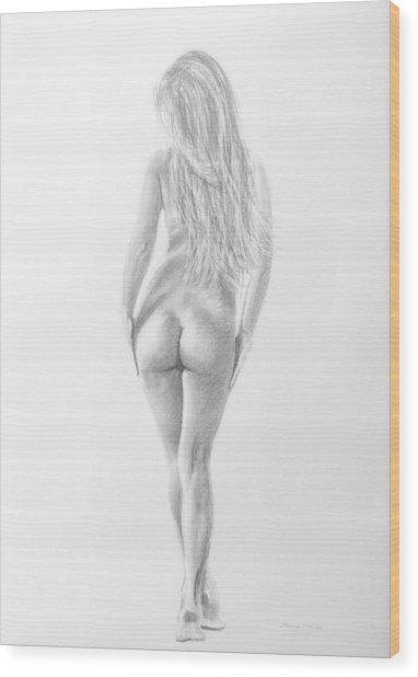 Pencil 15 Wood Print