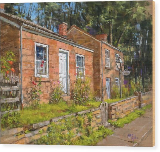Pendarvis House Wood Print