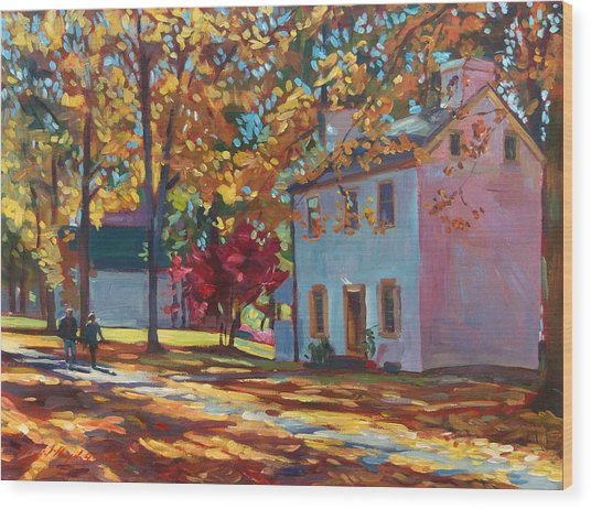 Pennsylvania Colors Wood Print