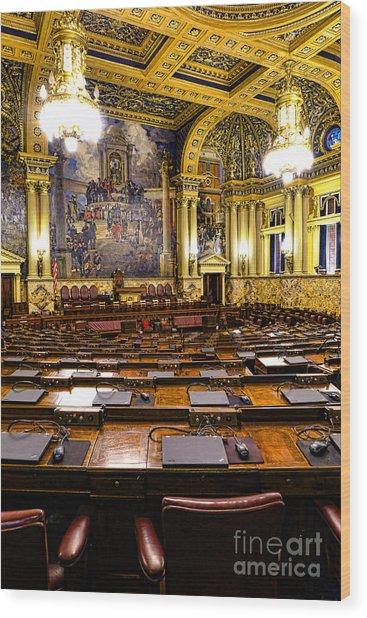 Pennsylvania House Of Representatives Wood Print