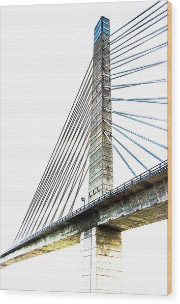 Penobscot Narrows Bridge And Observatory Wood Print
