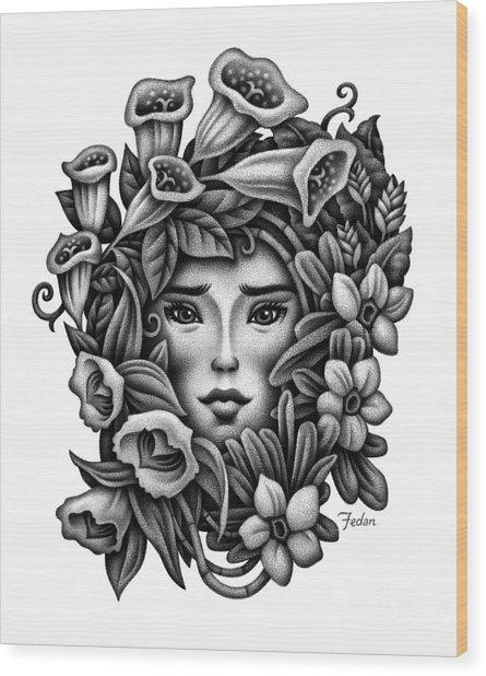 Perception Of Beauty Wood Print by David Fedan