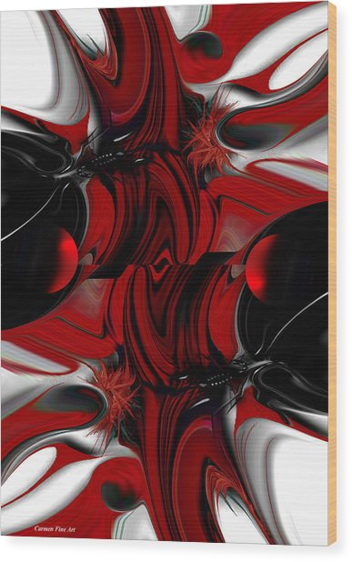 Perceptive Creation Wood Print