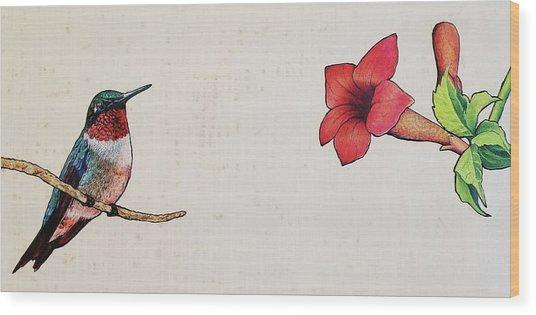 Perry Wood Print