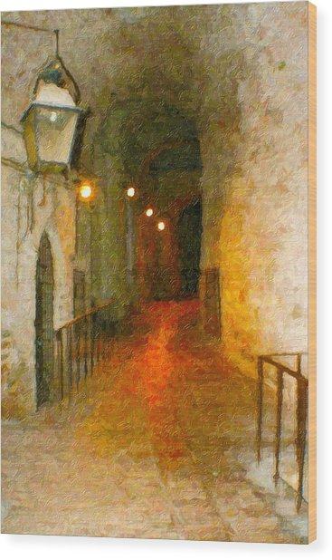 Perugia Grotto 1 Wood Print