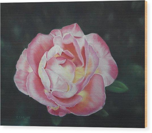 Petals Of Love Wood Print