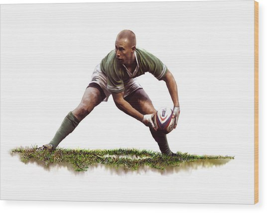 Peter Stringer Wood Print by James Robinson
