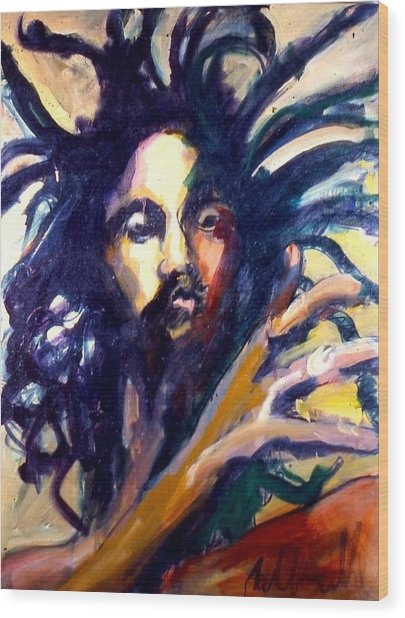 Peter Tosh Wood Print