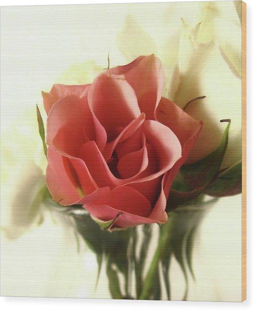 Petite Bouquet Wood Print