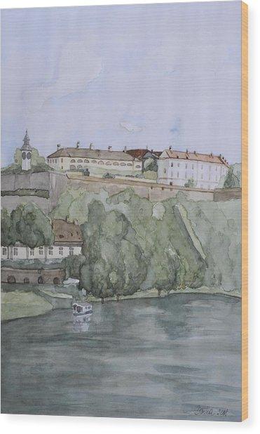 Petrovaradin Fortress Wood Print by Desimir Rodic