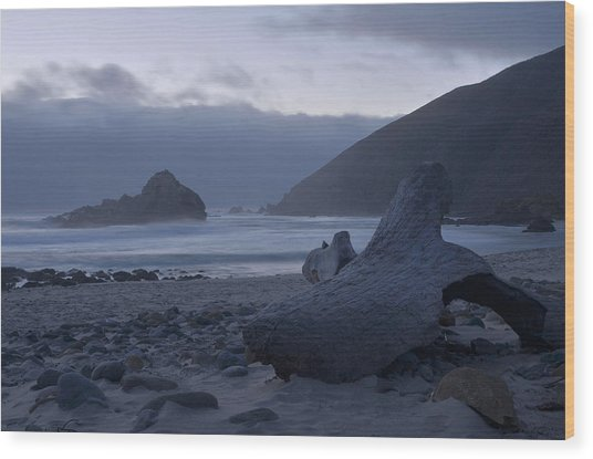 Pfeiffer Beach - Big Sur Wood Print