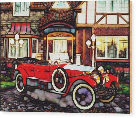 Phantom Rolls Royce 1935 Wood Print