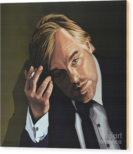 Philip Seymour Hoffman Wood Print
