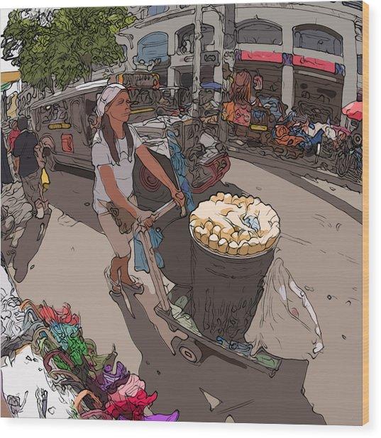 Philippines 1265 Mais Wood Print