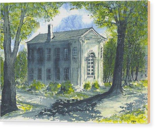 Philo Hall Erskine Wood Print