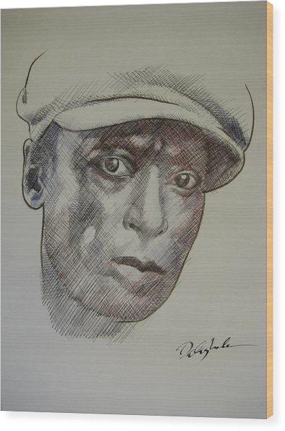 Photograph Of Jefferson Wood Print by Dalushaka Mugwana